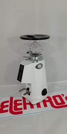 Coffee grinder FIORENZATO F4 E NANO WHITE TOUCHSCREEN Display Hopper 250 gr.