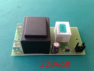 Grinta AMM printed-circuit board ON/OFF 220 volt 0490054