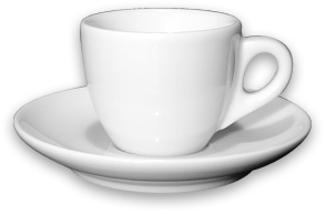 Coffee cup and saucer Ancap VERONA