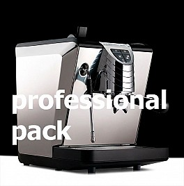 OSCAR II PROFESSIONAL PACK BLACK coffee machine NUOVA SIMONELLI