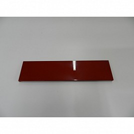 WATER TANK PLASTIC COVER OSCAR RED
