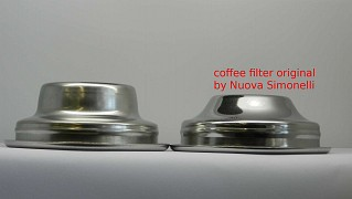 Single filter basket Type Marzocco