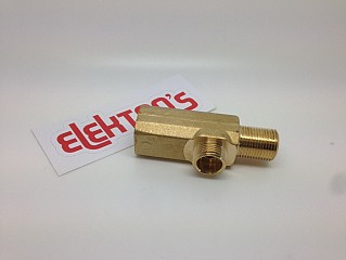 Body steam tap brass 07300357