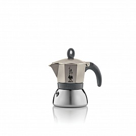 Bialetti Moka INDUCTION LIGHT GOLD 3 cups