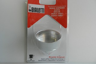 Funnel shaped filter Bialetti 3 cups