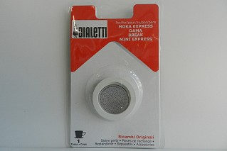 Gasket + filter 1 cup Bialetti