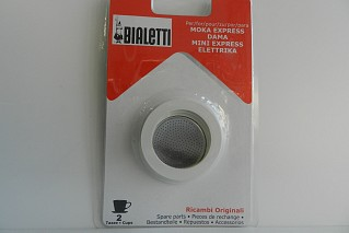 Gasket + filter 2 cups Bialetti