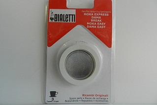 Gasket + filter 3 cups Bialetti