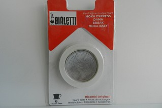 Gasket + filter 6 cups Bialetti