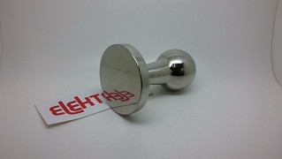 Tamper FLAT base inox steel