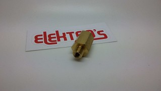 Brass body retaining valve 07300370
