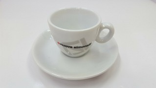 Coffee cup and saucer Nuova Simonelli