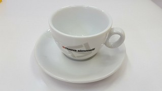 Cappuccino cup and saucer Nuova Simonelli