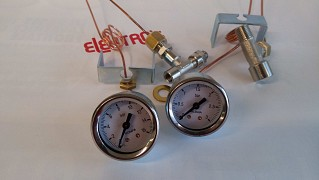 Kit manometers boiler - pump